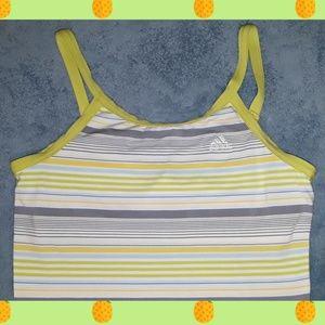 Adidas women's workout tank  w/built in bra
